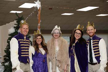 "School of the Ozarks faculty dressed up as ""Narnia"" characters for the students"