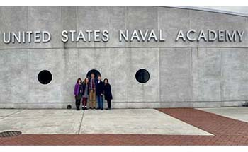 C of O students attend US Naval Academy Leadership Conference
