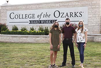 College of the Ozarks students participate in summer internships