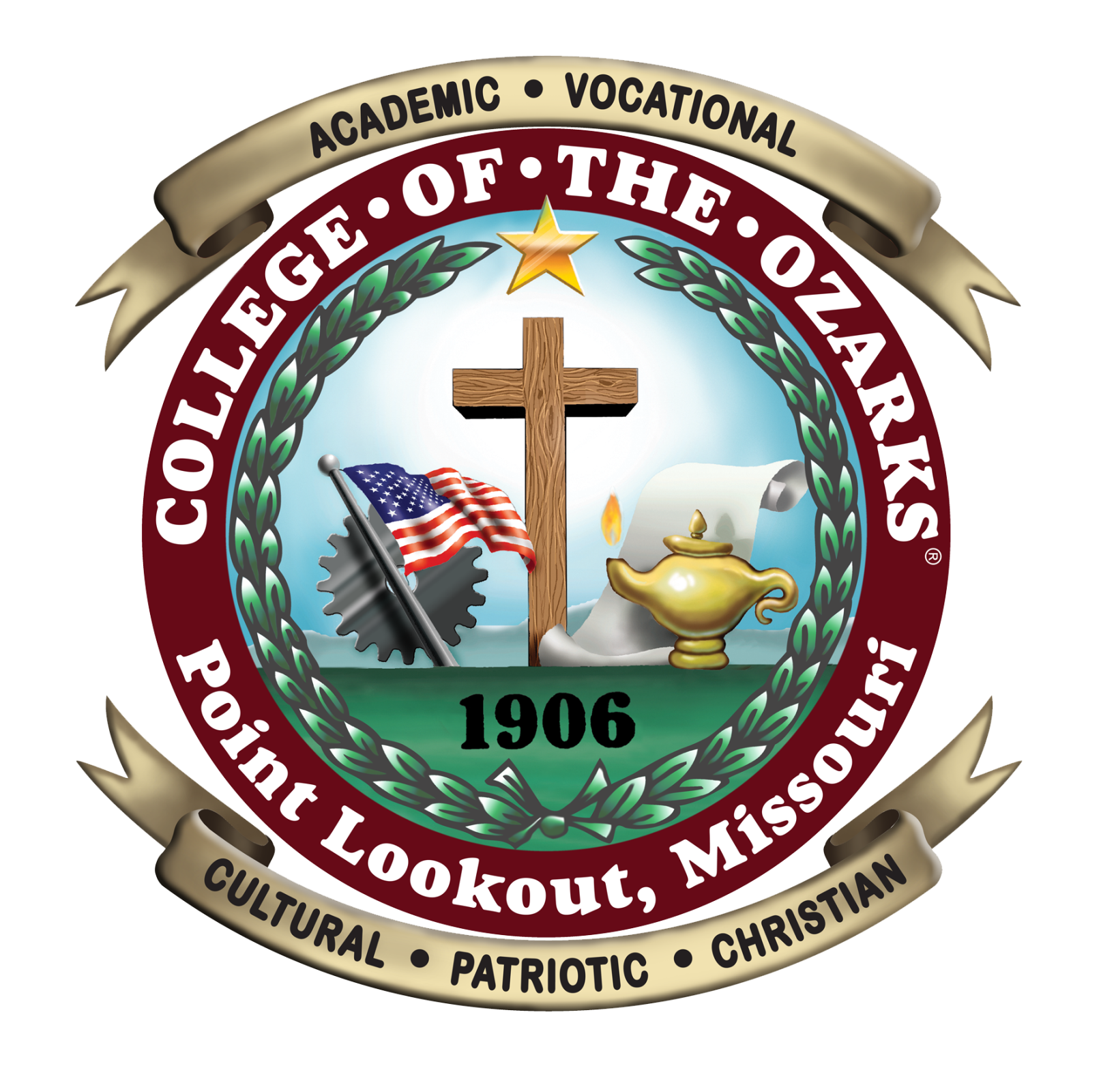 Official seal of College of the Ozarks